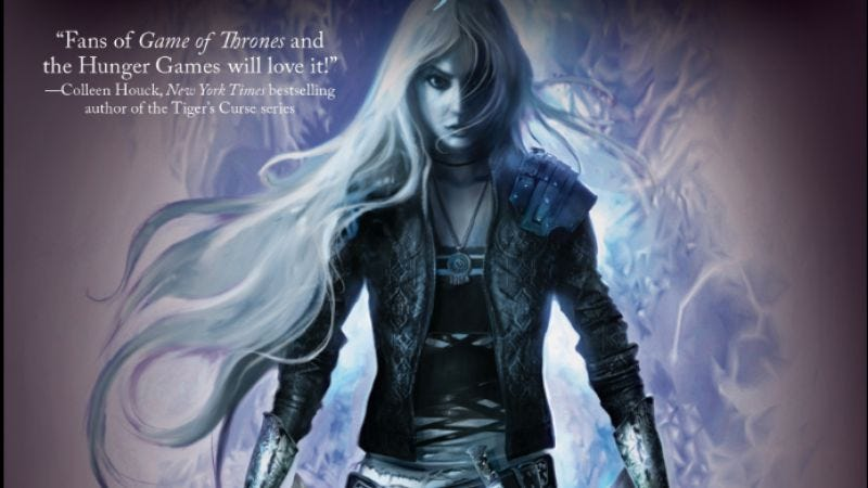 Throne Of Glass cover art (Image: Bloomsbury)