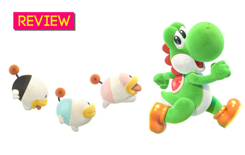 Illustration for article titled Yoshi's Crafted World: The Kotaku Review