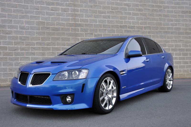 Public Service Announcement: There are just 36 Pontiac G8 GXP's for ...