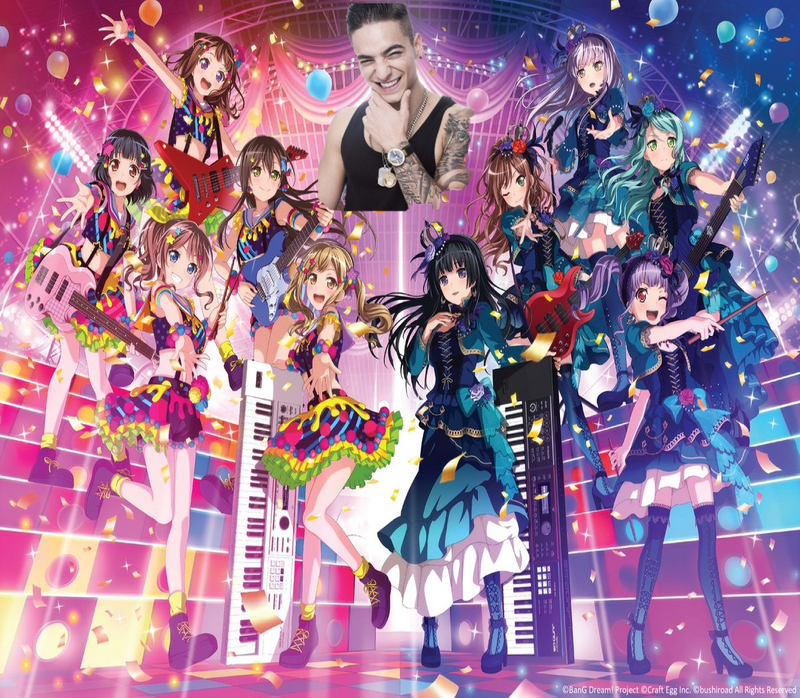 Illustration for article titled The Girls of BanG Dream will be at the Latin Grammy Awards!