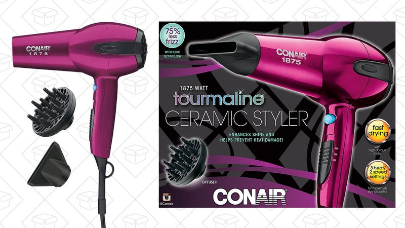 Conair 1875 Watt Soft Touch Tourmaline Ceramic 2-in-1 Styler, $24