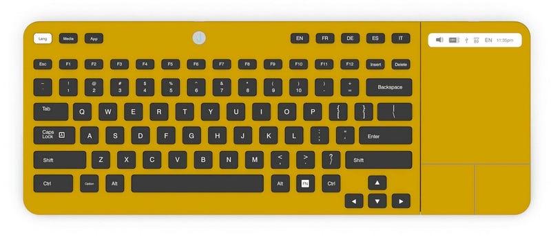 Illustration for article titled Olvida los atajos de teclado: llegan las teclas de tinta electrónica