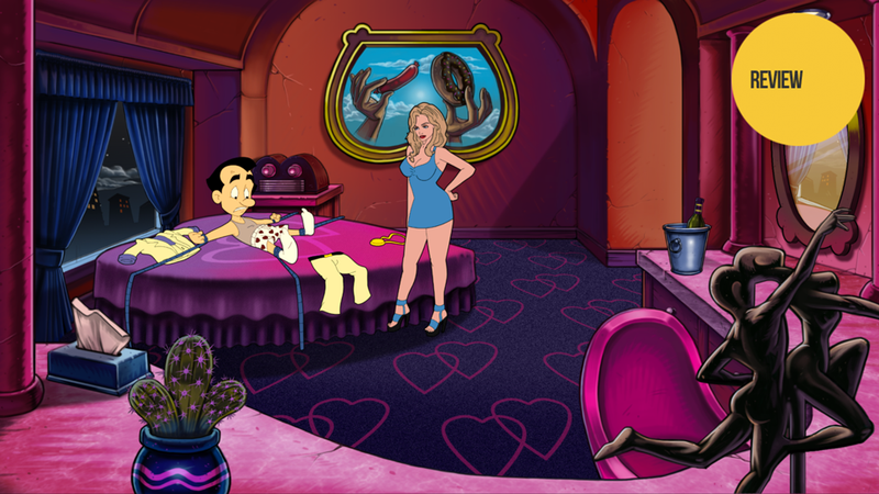 IVY: Leisure suit larry nude screenshots