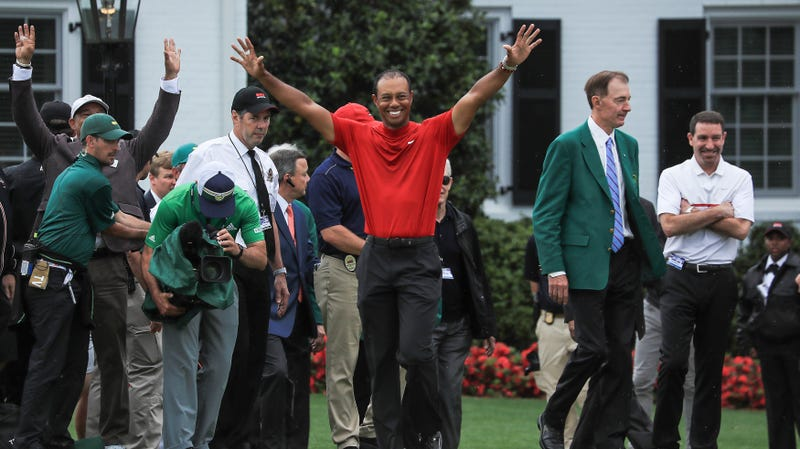Illustration for article titled Tiger Woods Has Come Again In Glory To Help Christians Talk About Easter