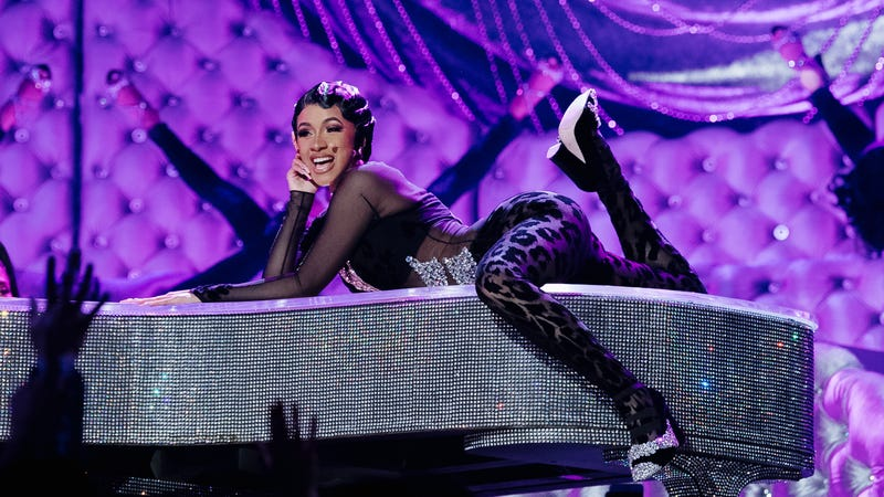 Cardi B performs onstage at the 61st Annual GRAMMY Awards at Staples Center on February 10, 2019 in Los Angeles, California.