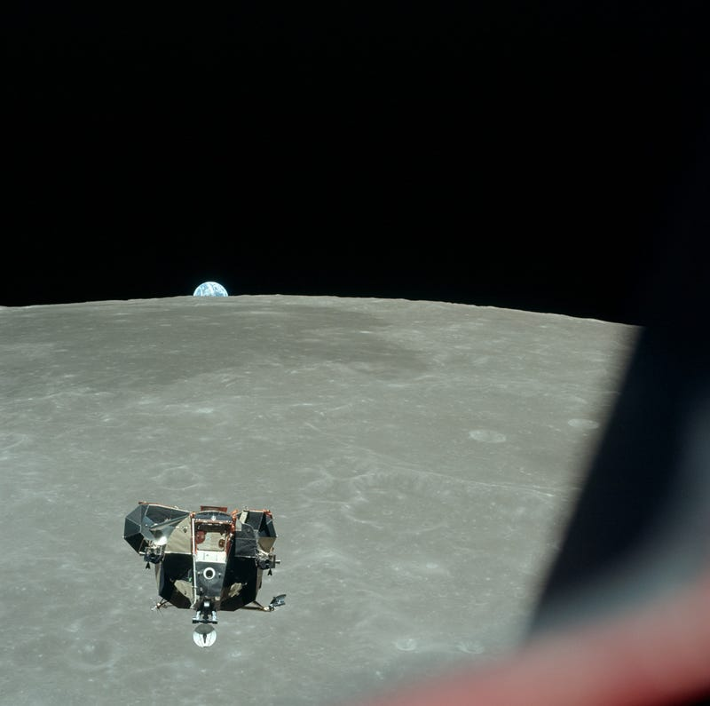 Rare photos reveal fascinating views of the Apollo 11 moon