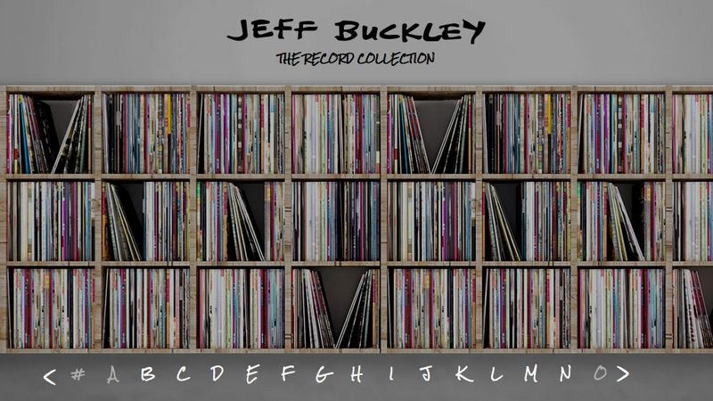 Screenshot: Jeff Buckley: The Record Collection