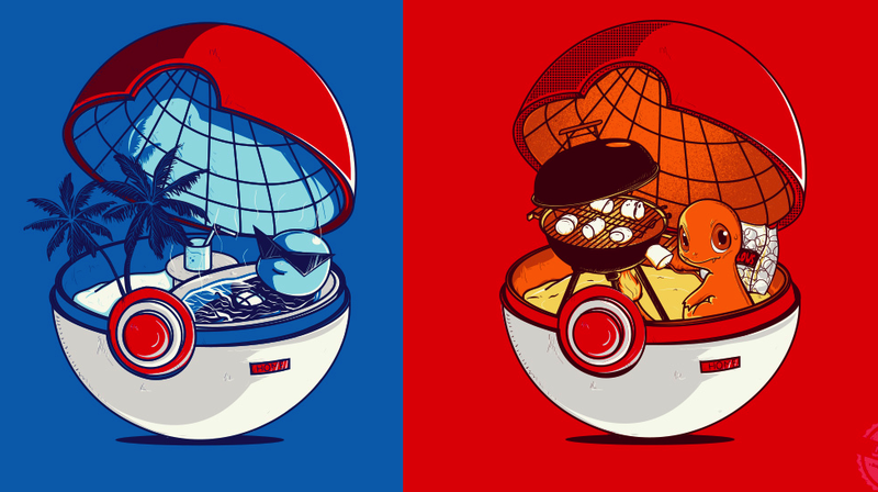 Illustration for article titled What The Inside of a Pokéball Looks Like