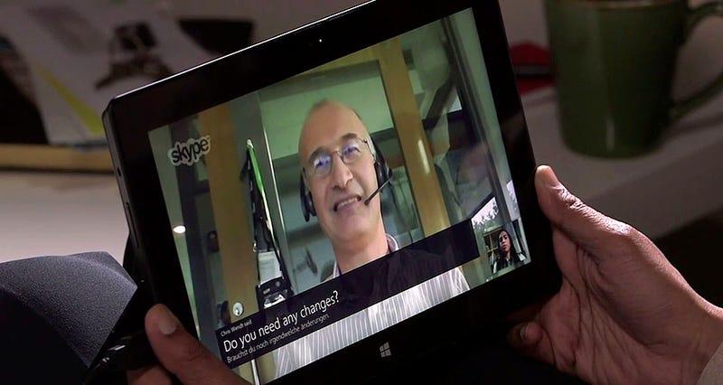 Illustration for article titled Skype permitirá hablar en otro idioma con un traductor en tiempo real