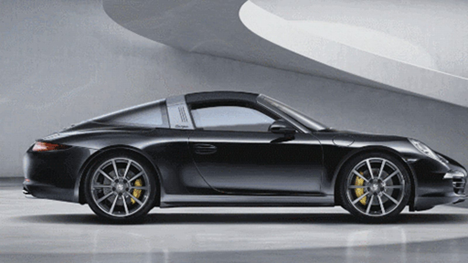 The Porsche 911 Targa Hardtop Convertible Is As Cool As