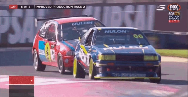 This Ae86 Vs Honda Civic Battle Is The Best Race I Ve Seen In Forever