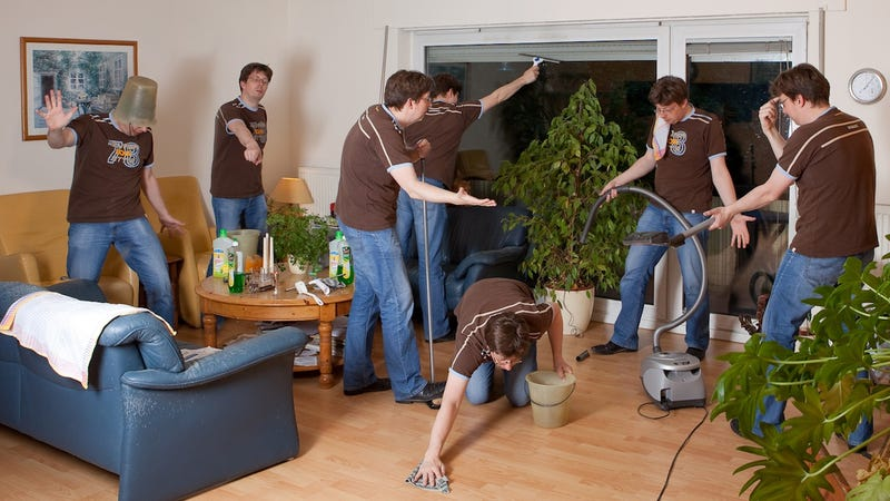 Cleaning The House how to streamline your household cleaning