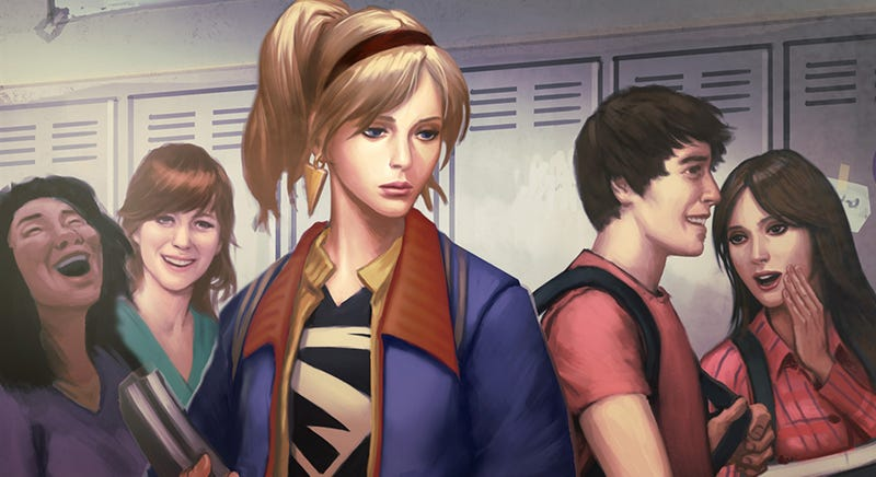 Illustration for article titled Play Infinite Crisis As Morose High School Supergirl