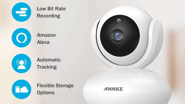 Look All Around Your House With This $24 Pan-and-Tilt Security Camera