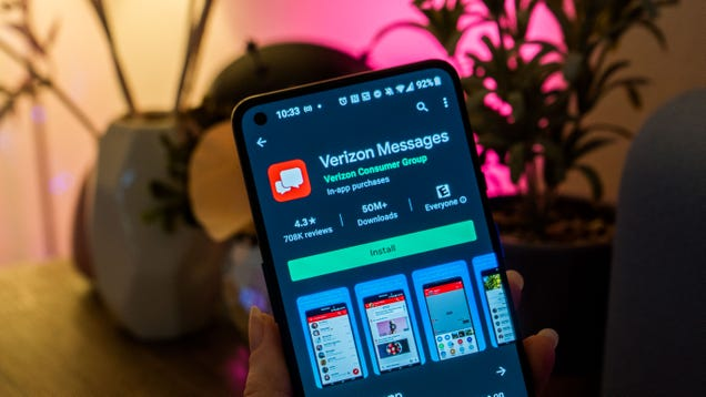Verizon Finally Embraces RCS, Now the Lone Holdout Is Apple