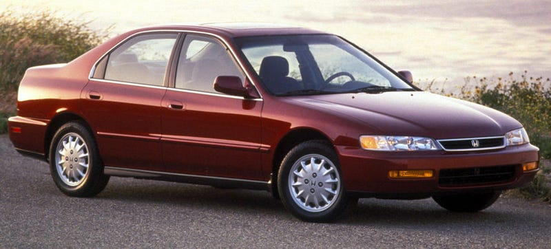 A 1990s Honda Accord. If you see one, steal it immediately before someone else does.