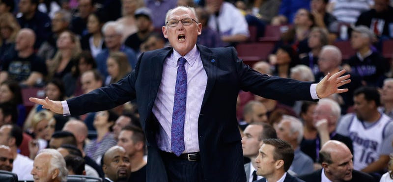Illustration for article titled Report: George Karl Could Lose His Job By The End Of The Week