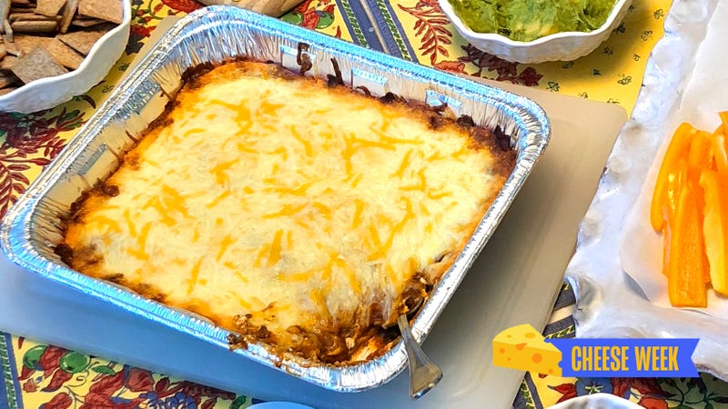 3-ingredient chili cheese dip is two parts cheese, one part enlightenment