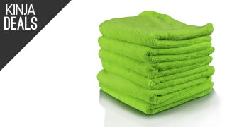 Grab a Stack of Six Microfiber Towels for $8