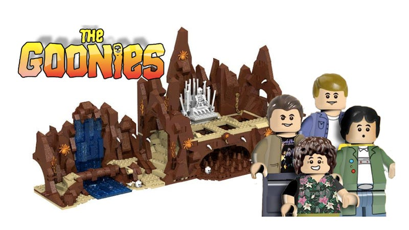 Illustration for article titled This Lego Goonies Set Will Make You Do the Truffle Shuffle