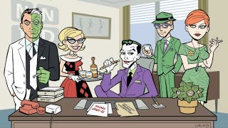 Illustration for article titled The real Mad Men are the jokers of Arkham Asylum