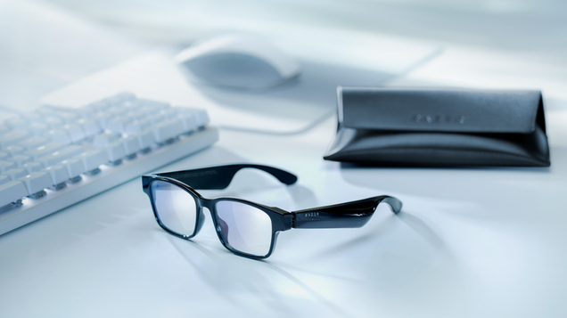 Razer s New Smart Glasses Promise to Make WFH a Little Less Awful