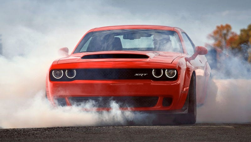 Dodge Challenger Demon 0-60mph Number Fail To Impress Racers