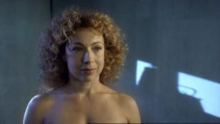 """Illustration for article titled The River Song Scene That Was """"Too Naughty"""" for Doctor Who"""