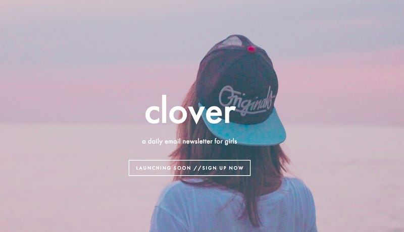 Illustration for article titled Teenage Girls Will Soon Have a Non-'Clickbait' Newsletter to Read Called Clover