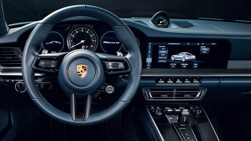 Illustration for article titled Here's What's New and Awesome Inside the 2020 Porsche 911
