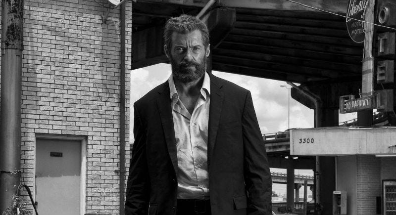 Logan is going black and white on May 16. Image: Fox