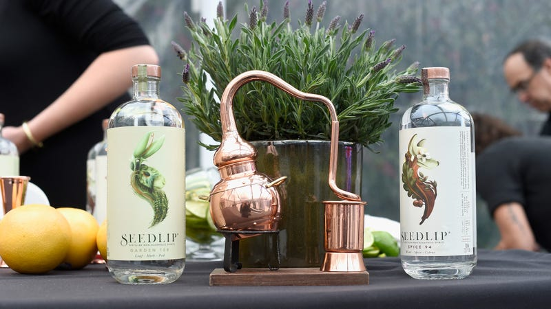"""A """"non-alcoholic spirit"""" just sold to one of the world's largest booze companies"""
