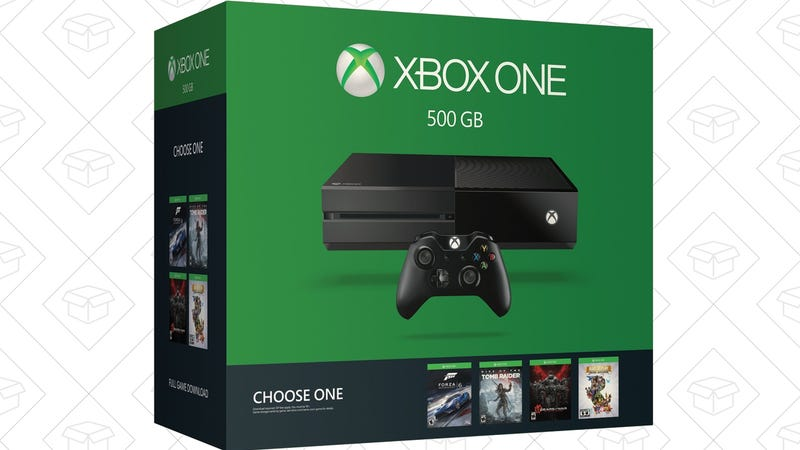 Xbox One Choose Your Game Bundle + Extra Controller + $50 Dell Promo Gift Card, $280