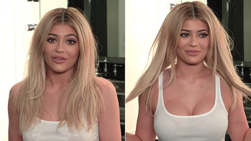 Illustration for article titled Kylie Jenner Reveals the Secret to Making Your Breasts 'Look Girlie'