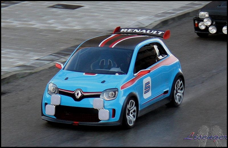 Illustration for article titled Is that the next Renault Twingo ? Renault TwinRun Concept