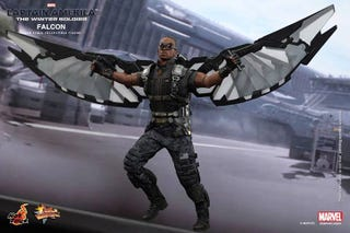 Illustration for article titled Hot Toys' New The Winter Soldier Falcon Figure