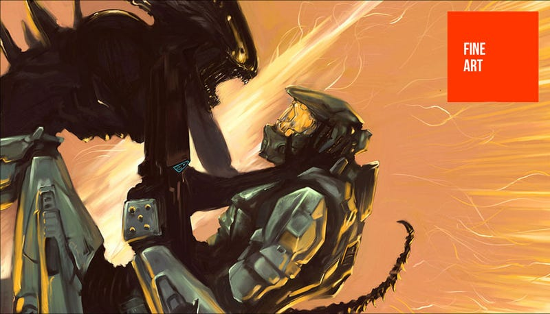 Illustration for article titled Halo & Aliens Are A Lot Closer Than You Think