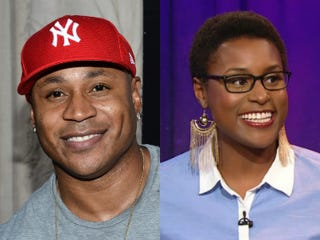 LL Cool J (Michael Buckner/Getty Images Entertainment); Issa Rae (BET.com)
