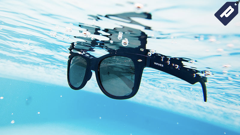 Illustration for article titled Save 50% On These Reflective, Polarized Floating Shades From WavesGear ($20)