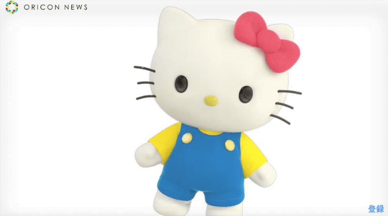 Japan's Newest YouTuber: Hello Kitty
