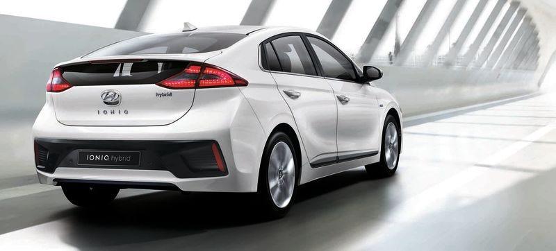 Pictured: Hyundai Ioniq Plug-In Hybrid