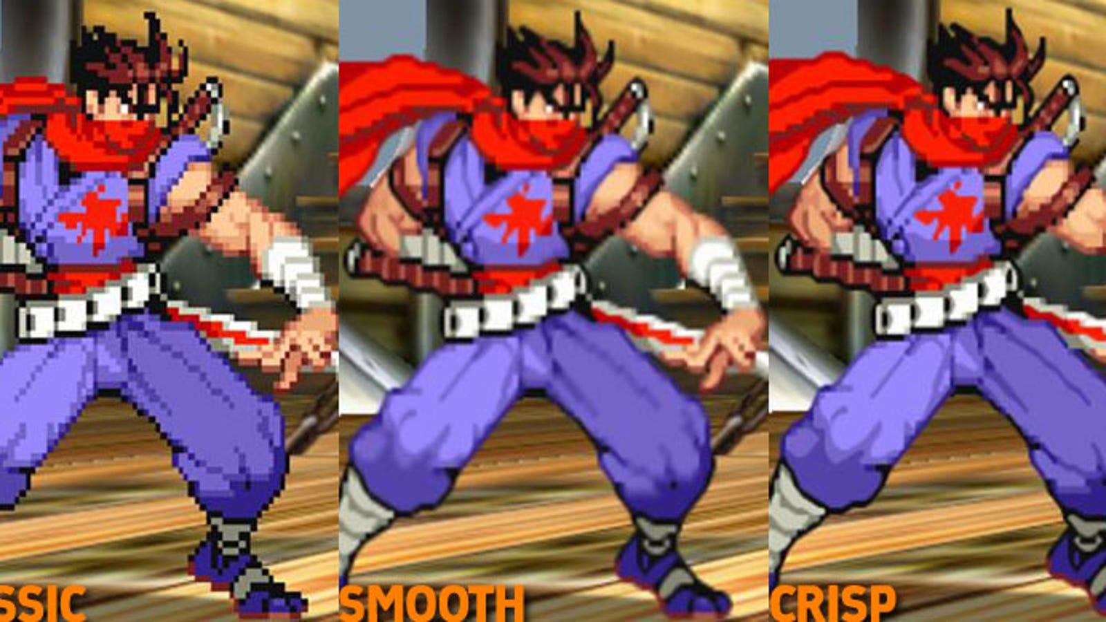 Marvel Vs Capcom 2 Old Graphics Vs New Graphics