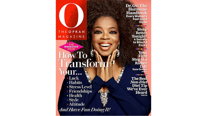 Illustration for article titled Oprah's Beautiful Natural Hair Makes Its Debut on O Magazine