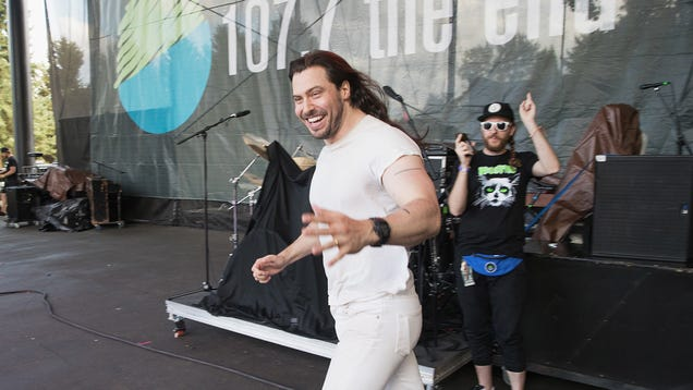 "Andrew W.K. pens a thoughtful, joyful response after being named ""person of the year"" by a suicide prevention group"