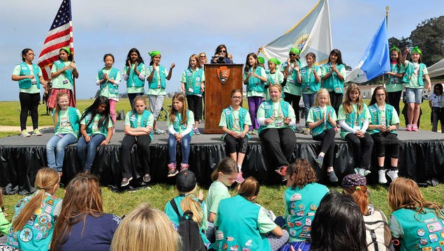Girls Scouts Announces They'll Never Ever Let Gross Fucking Boys In