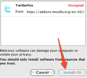 Illustration for article titled How to Skip the Installation Delay for Firefox Extensions