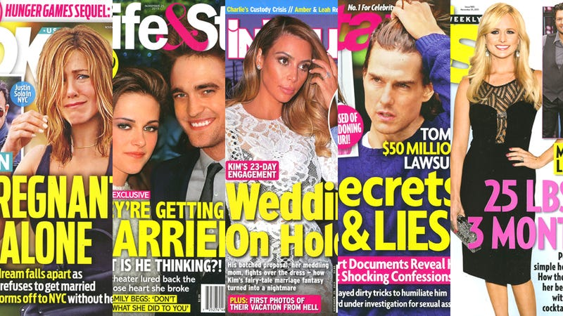 Illustration for article titled This Week in Tabloids: Beyoncé and Jay Z's Marriage Is in Crisis