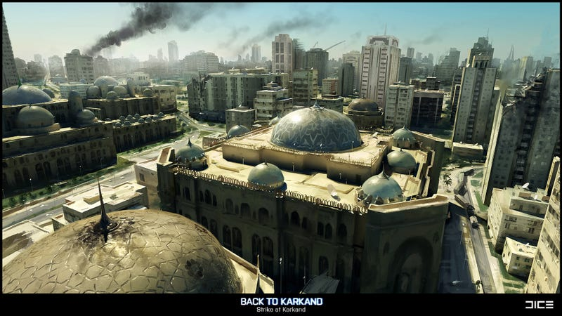 Our First Look At Battlefield 3s Take On Karkand