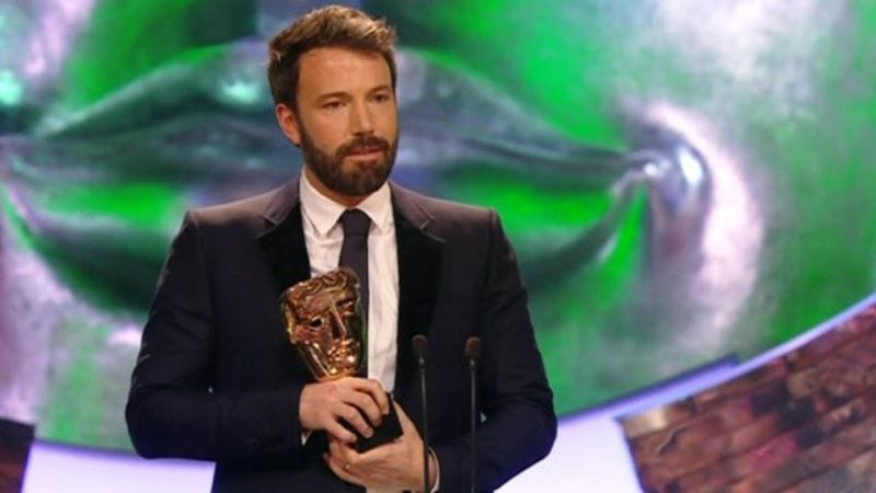 Illustration for article titled Ben Affleck's Oscar snub receives the withering rejoinder of a BAFTA win
