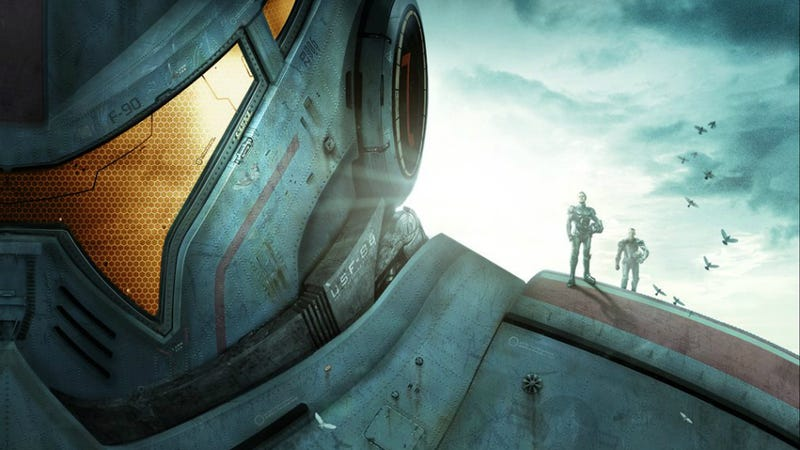 Illustration for article titled First Look at the Giant Robots in Guillermo del Toro's Pacific Rim!